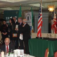 ROSCOMMON 24.03.16 - Remise du Trophée à la délégation chartrettoise