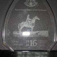 Trophée offert par Roscommon à Chartrettes