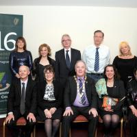 ROSCOMMON 24.03.16 Délégation franco-irlandaise Commémoration Centenaire de l'Indépendance