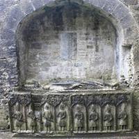 ROSCOMMON 26.03.16 020 Tombeau de Felim O'Conor roi du Connacht Abbaye de Roscommon