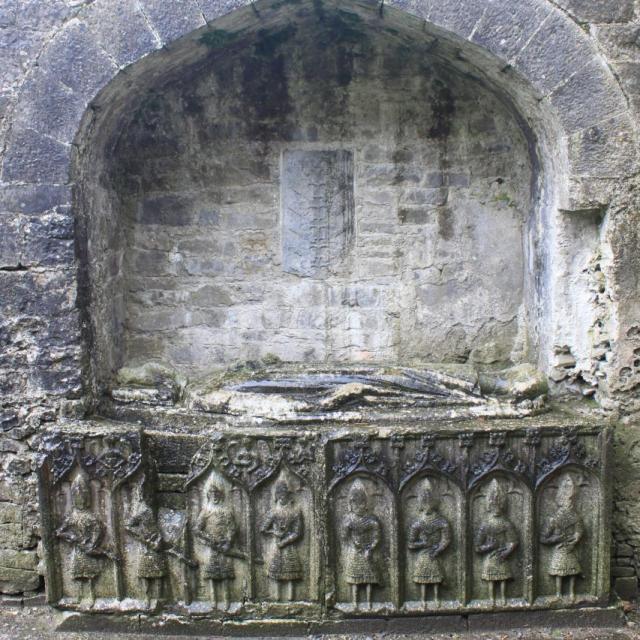 ROSCOMMON 26.03.16 020 Felim O'Conor roi du Connacht Tombe