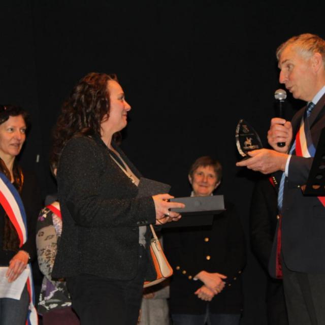 Remise du Trophée de Roscommon - Voeux du Maire 20.01.17