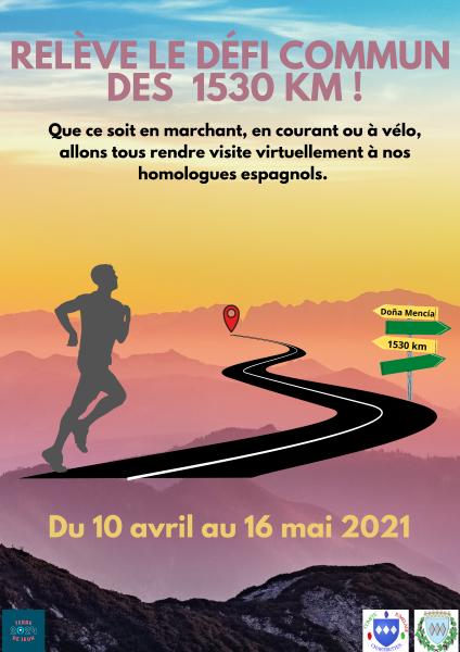 Defi 1530 km terre de jeux paris 2024